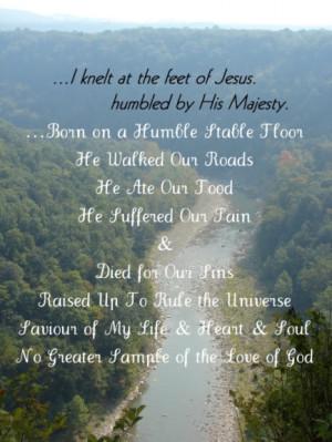 Jesus Poem, Jesus Majesty, Jesus Humble,quote