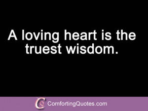 Charles Dickens a Loving Heart Quote