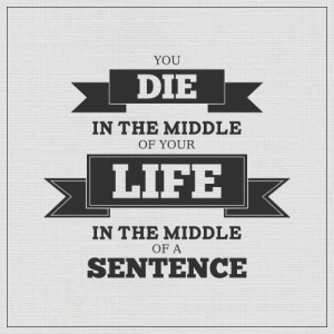 Quotes In Middle Of Sentence