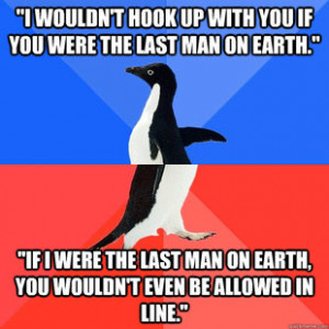 make your own Socially Awkward Awesome Penguin meme using our meme ...