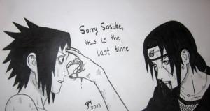 Sasuke and Itachi Uchiha by piritajenna
