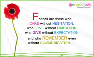 Friendship ecards for best friends, funny, poems, quotes