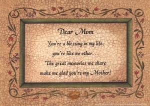 dear mom in heaven quotes