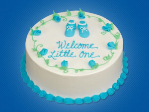 baby shower cake sayings for a girl