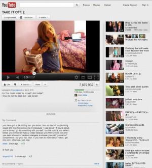 ironic youtubement humor thot it would b funny 2 share w u guyz