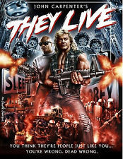 THEY LIVE rowdy roddy piper classic cult horror movie photo glossy t ...