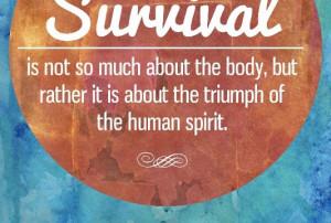 Survival Quotes articles