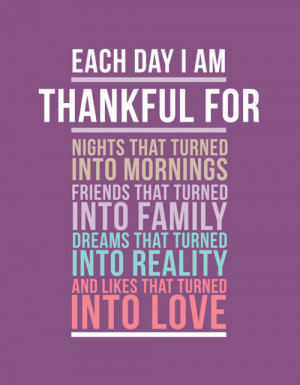 am feeling so full of blessings and love today!