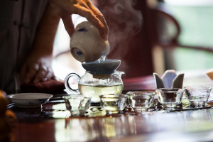 At Songshan, the monks grow tea. Chinese leaders bringing foreign ...