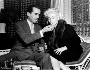 Edward R. Murrow (and Marilyn Monroe) USA, 1908-1965 |