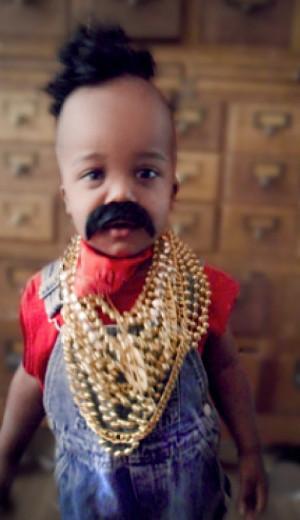 10 Babies Lookin Like Mr. T