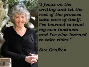 Sue grafton famous quotes 4