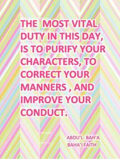 baha i quote more bahai faith baha i quotes noteworthy quotes bahai ...