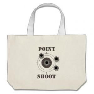 Guns, Shooting Range Canvas Bag