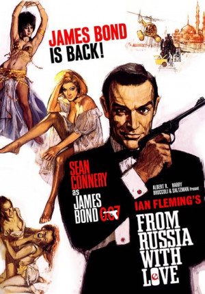 Sean Connery as James Bond in From Russia With Love (1963)