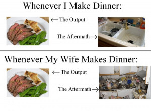 Cooking: Men vs Women