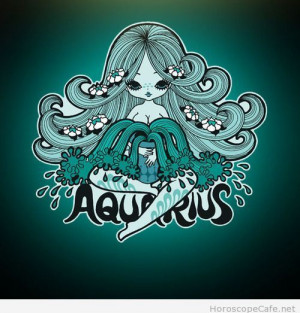 Aquarius daily horoscope cartoon / Horoscope Cafe on imgfave