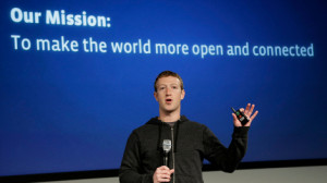 The role of social media now, as Mark Zuckerberg sees it: