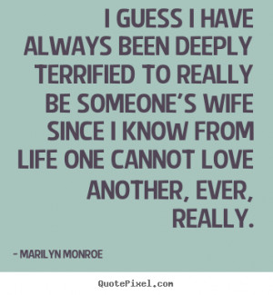 quotes about love by marilyn monroe make your own quote picture