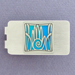 Engraved Hand Money Clip - Engrave it!