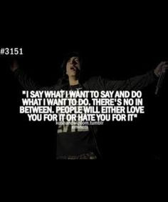 Eminem Quotes Love Is Just A Word