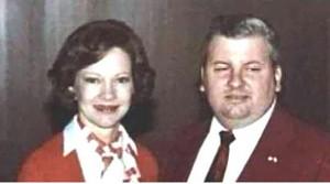 John Wayne Gacy (right) Photo: Wikimedia Commons
