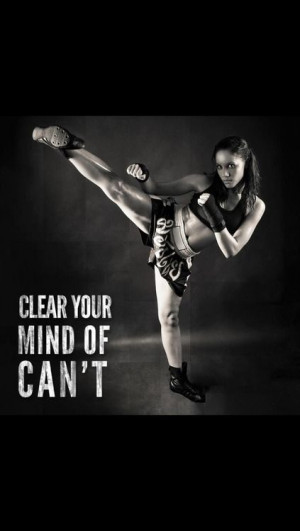 Girl Martial Arts Quotes Positive thought - taekwondo.