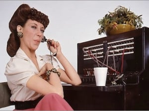 """Remember Lily Tomlin as operator Ernestine? """"Have I reached the ..."""