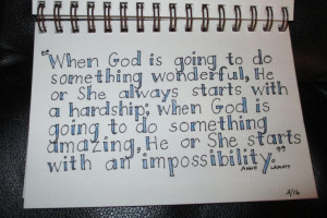 ... lived through hardship and impossibility to find amazement and wonder
