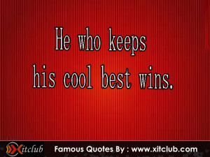 15 Most Famous Cool Quotes