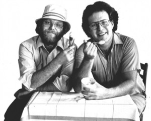The eponymous founders of Ben & Jerry's