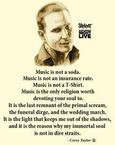 corey taylor music life more corey taylors quotes slipknot quotes ...