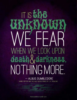 Harry Potter Quote-Dumbledore