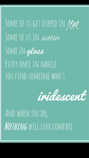 My favorite quote of this book #Flipped