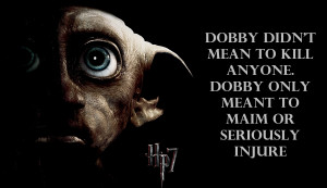 Harry Potter harry potter and the deathly hallows - dobby
