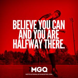 Just believe...