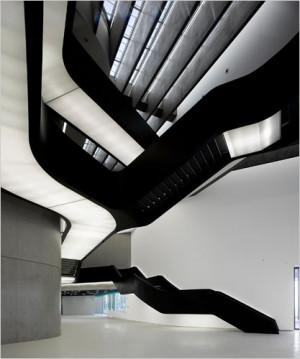 Zaha Hadid's new Rome museum