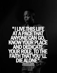 Kendrick Lamar Love Quotes