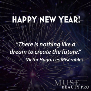 "... like a dream to create the future."" – Victor Hugo, Les Misérables"