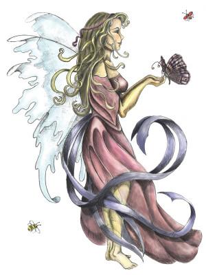Fairies Butterfly Fairy