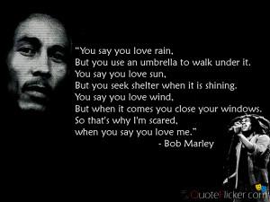 You say you love Rain...