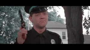 ... Technicolor - David Graf as Cadet Eugene Tackleberry in Police Academy