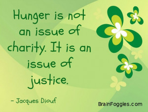 Stop World Hunger Quotes Reality of world hunger