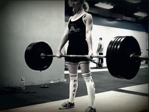When I started lifting weights, I blew up my friends' Facebook feeds ...