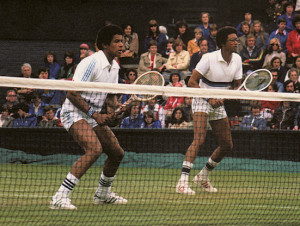 YANNICK NOAH: I liked everything about him. First of all, he looked ...