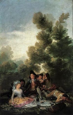 Merienda campestre, 1786-88
