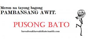 Tagalog Kalokohan Quotes Tumblr Tagged Pusong Bato