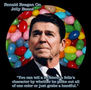 Reagan jelly bean quote