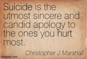 ... Sincere And Candid Apology To The Ones You Hurt Most - Apology Quote