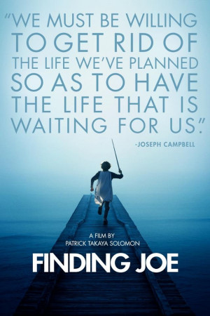 We must be willing to get rid of the life we've planned so as to have ...
